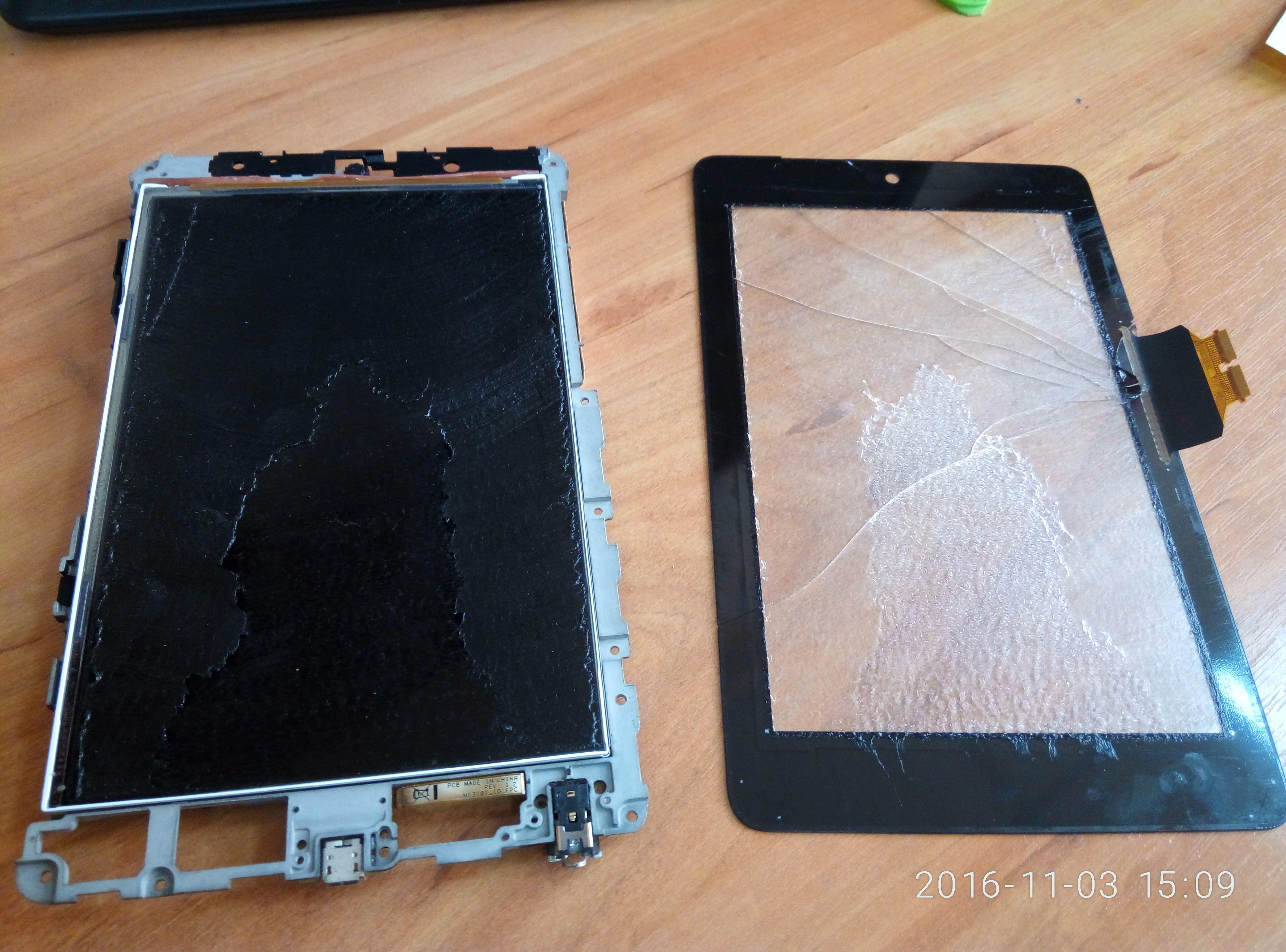 Замена дисплея планшета своими руками 78